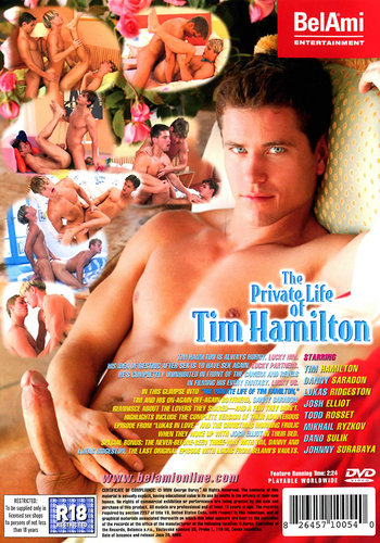 The Private Life of Tim Hamilton Cover Back