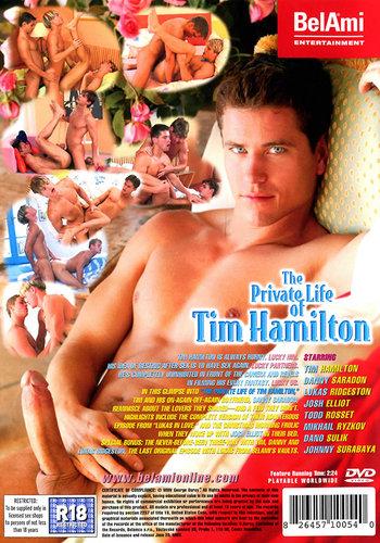 The Private Life of Tim Hamilton Cover Back
